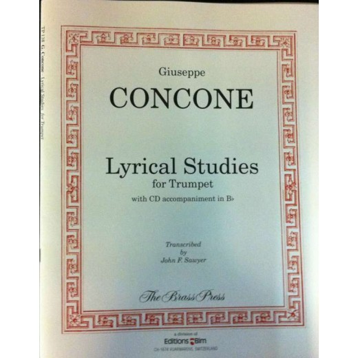 Concone Lyrical Studies for Trumpet med akkompagnement-31